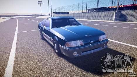 Ford Mustang GT 1993 Rims 1 pour GTA 4 Vue arrière