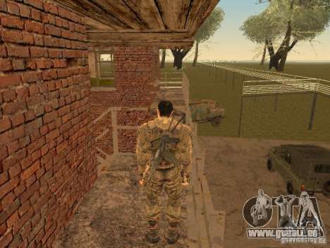 Degtyarev de Stalker pour GTA San Andreas quatrième écran