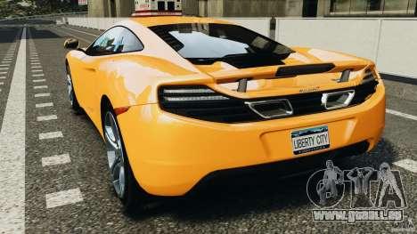 McLaren MP4-12C v1.0 [EPM] für GTA 4 hinten links Ansicht