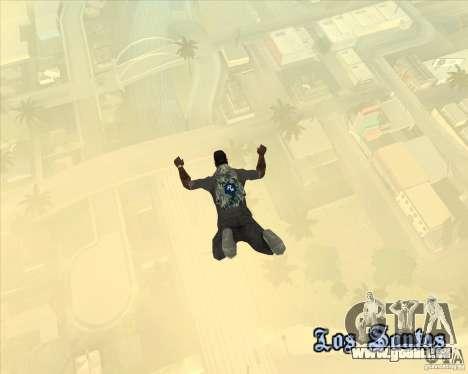 Parachute Rockstar (camouflage) pour GTA San Andreas