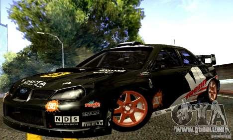 Subaru Impreza WRC 2007 für GTA San Andreas