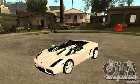 Lamborghini Concept S v2.0 für GTA San Andreas