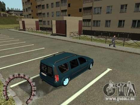 Lada Largus für GTA San Andreas rechten Ansicht