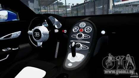 Bugatti Veyron 16.4 v1.0 wheel 2 pour GTA 4 est une vue de l'intérieur