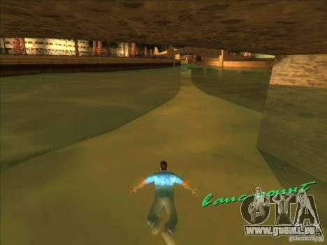 Schwimmen mit der neuen animation für GTA Vice City