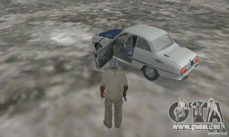 Isuzu Bellett GT-R pour GTA San Andreas vue arrière
