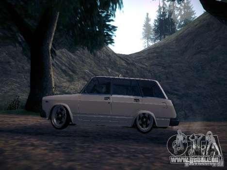 VAZ 2104 Air pour GTA San Andreas laissé vue