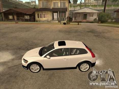 Volvo C30 für GTA San Andreas zurück linke Ansicht