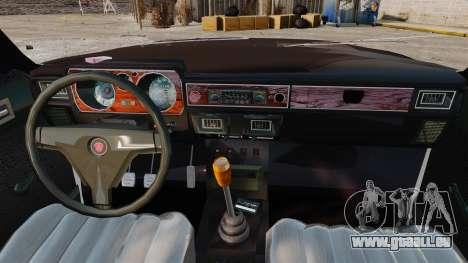 Gaz-3102 pour GTA 4 est une vue de l'intérieur