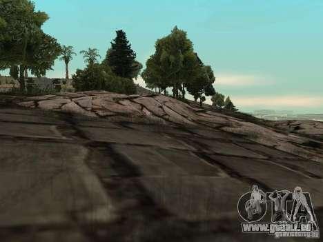 Stone Mountain pour GTA San Andreas deuxième écran