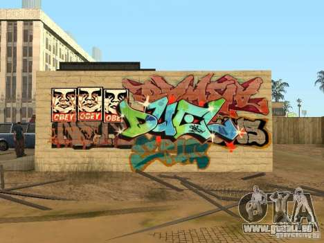 Los Santos City Graffiti Legenden v1 für GTA San Andreas