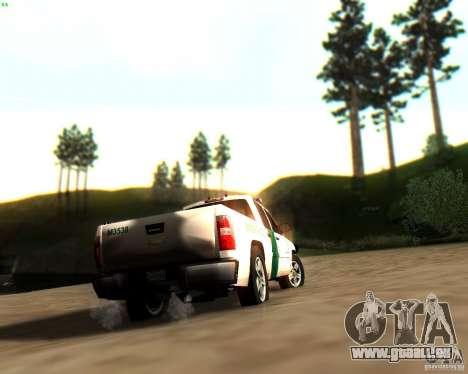 Chevrolet Silverado Police pour GTA San Andreas roue
