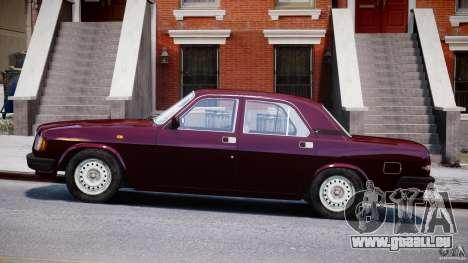 GAZ Volga 3110 pour GTA 4 est une gauche