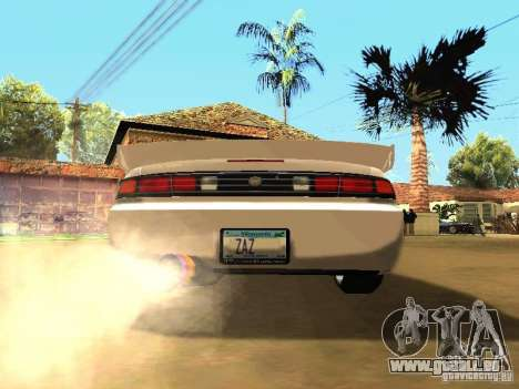 Nissan 200SX JDM pour GTA San Andreas vue de droite