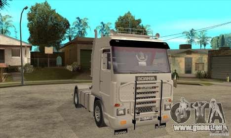 Scania 143M 500 V8 pour GTA San Andreas vue arrière