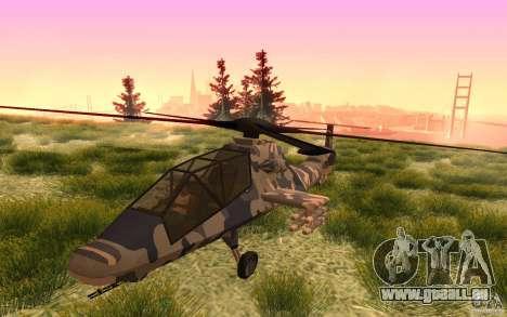 Sikorsky RAH-66 Comanche Camo pour GTA San Andreas