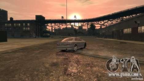 Toyota Chaser 2.5 Tourer V pour GTA 4 est un côté