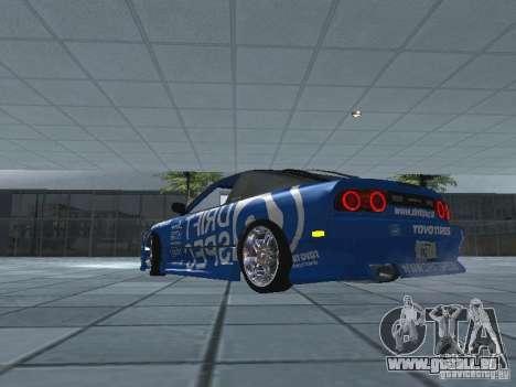 Nissan RPS13 Drift Spec für GTA San Andreas zurück linke Ansicht