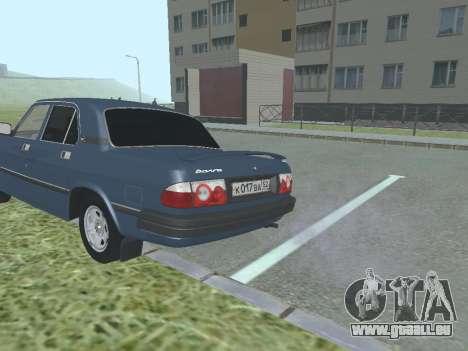 GAZ Volga 3110 v1.0 pour GTA San Andreas vue de droite