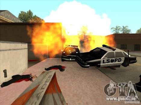 CLEO-Skript: Maschinengewehr in GTA San Andreas für GTA San Andreas