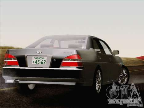 Nissan Laurel GC35 Kouki Unmarked Police Car für GTA San Andreas zurück linke Ansicht