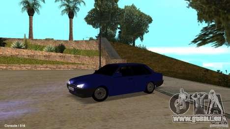 BAZ 21099 pour GTA San Andreas laissé vue