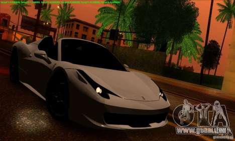 SA_gline 4.0 pour GTA San Andreas quatrième écran