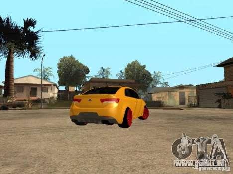 Kia Cerato Coupe JDM pour GTA San Andreas laissé vue