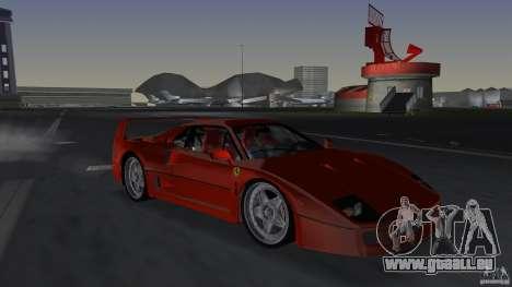 Ferrari F40 pour GTA Vice City