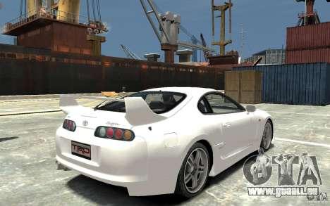 Toyota Supra MKIV 1995 pour GTA 4 est un droit