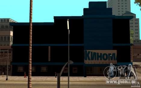 Kino Kinomaks. für GTA San Andreas