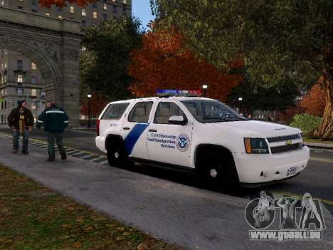 Chevrolet Tahoe Homeland Security pour GTA 4