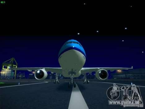 Airbus A330-200 KLM Royal Dutch Airlines für GTA San Andreas linke Ansicht