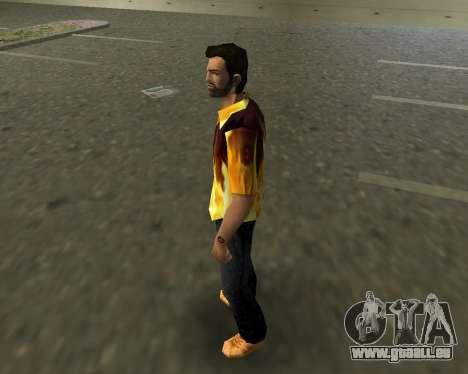 Chemise avec flammes GTA Vice City pour la deuxième capture d'écran