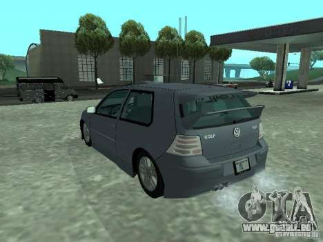 Volkswagen Golf IV für GTA San Andreas Seitenansicht