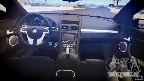 Holden Commodore (CIVIL) pour GTA 4 Vue arrière