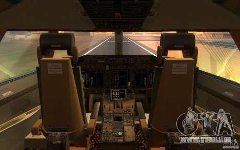 Boeing-747 Corsair Fly pour GTA San Andreas vue de droite