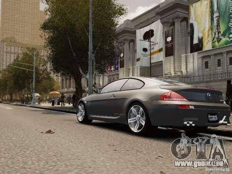 BMW M6 2010 für GTA 4 rechte Ansicht