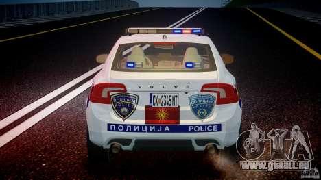Volvo S60 Macedonian Police [ELS] pour le moteur de GTA 4