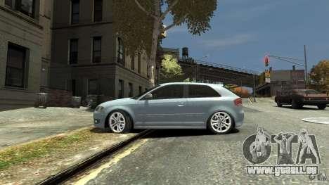 Audi S3 2009 pour GTA 4 est une gauche