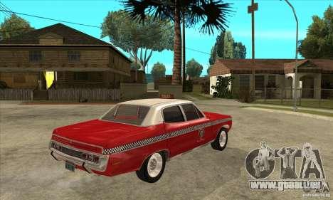 AMC Matador Taxi für GTA San Andreas rechten Ansicht