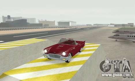 Ford Thunderbird 1957 pour GTA San Andreas laissé vue