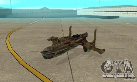 Hydra TimeShift Skin 1 pour GTA San Andreas laissé vue