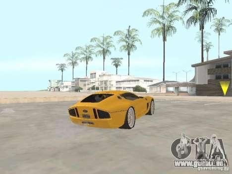 Ford Shelby GR1 für GTA San Andreas zurück linke Ansicht