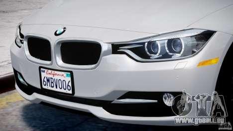 BMW 335i E30 2012 Sport Line v1.0 für GTA 4 Räder