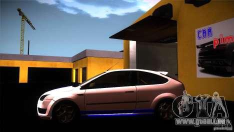 Ford Focus 2 Coupe pour GTA San Andreas laissé vue