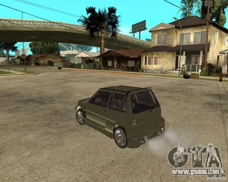 OKA 1111 Z.V.E.R. Tuning pour GTA San Andreas laissé vue