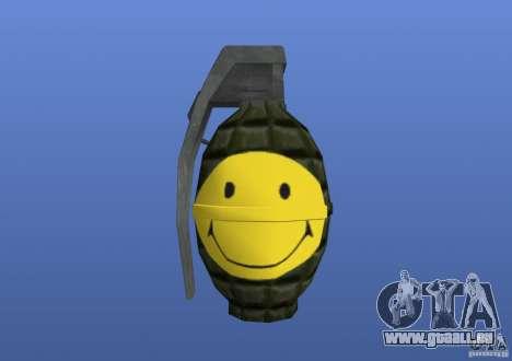 Smiley Granate pour GTA 4