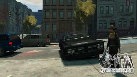 Slamvan für GTA 4 Rückansicht