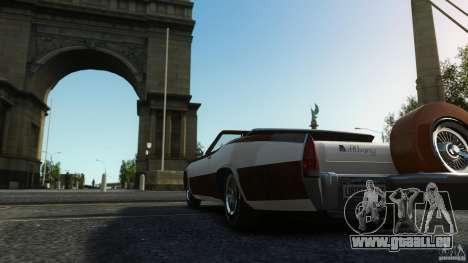 Buccaneer Final für GTA 4 Innenansicht